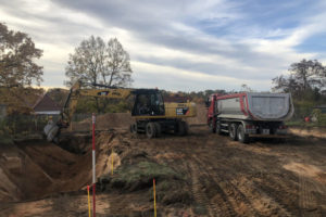 Panorama Terrassen: November 2018: Baubeginn