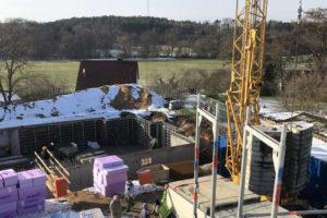 Panorama Terrassen: Februar 2019: Kellerbau
