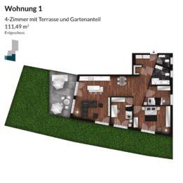 Regnitz Terrassen Wohnung 1