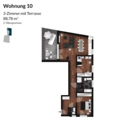 Regnitz Terrassen Wohnung 10