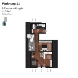 Regnitz Terrassen Wohnung 11
