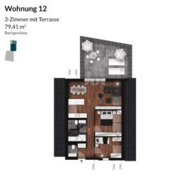 Regnitz Terrassen Wohnung 12