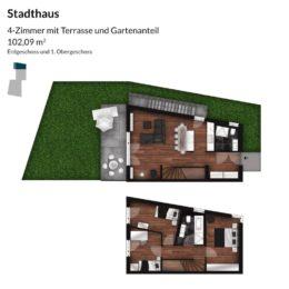 Regnitz Terrassen Stadthaus