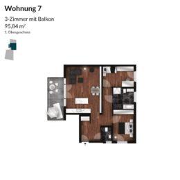 Regnitz Terrassen Wohnung 7