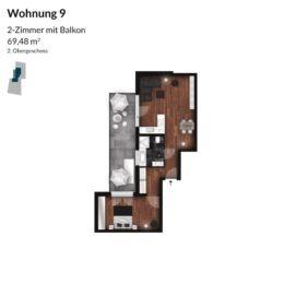 Regnitz Terrassen Wohnung 9