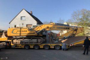 Lindengärten - Oktober 2019: Baubeginn - Die großen Maschinen rücken an