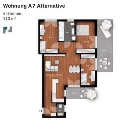 Lindengärten A7 Alternative