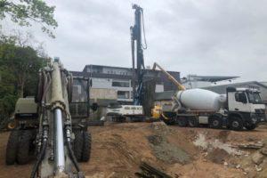 Regnitzterrassen – April 2020: Beginn der Tiefbauarbeiten