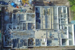 Lindengärten - April 2020: Mai 2020: Tiefgarage fast fertiggestellt