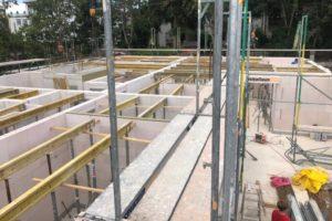 Lindengärten - Juni 2020: Das Erdgeschoss ist fast fertiggestellt