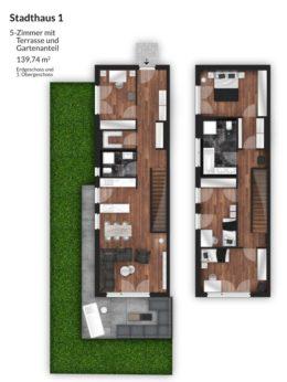 Bibert Terrassen - Stadthaus 1