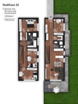 Bibert Terrassen - Stadthaus 10