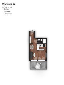Bibert Terrassen - Wohnung 12