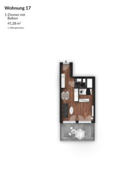 Bibert Terrassen - Wohnung 17