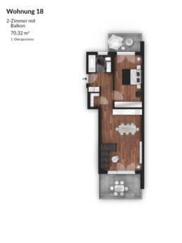 Bibert Terrassen - Wohnung 18