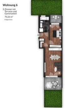 Bibert Terrassen - Wohnung 6