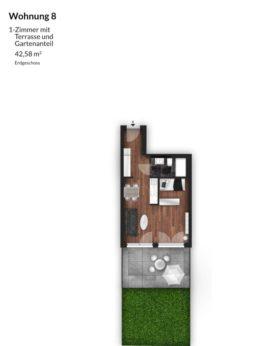Bibert Terrassen - Wohnung 7