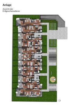 Bibert Terrassen - Übersicht (EG)