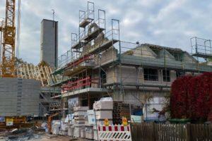 Lindengärten - Oktober 2020: Rohbauarbeiten abgeschlossen