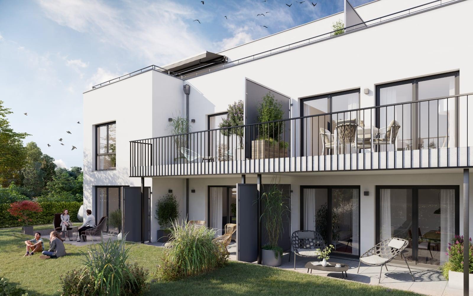Bibert Terrassen in Zirndorf - Terrassen und Balkone