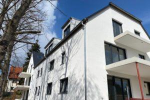 Lindengärten - Fassadenarbeiten abgeschlossen