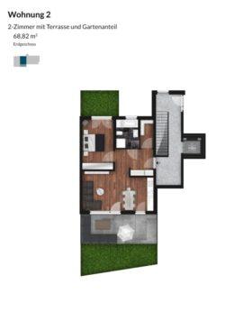 Pegnitz Gärten - Wohnung 2