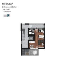 Pegnitz Gärten - Wohnung 4