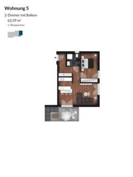 Pegnitz Gärten - Wohnung 5