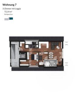 Pegnitz Gärten - Wohnung 7