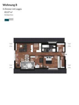 Pegnitz Gärten - Wohnung 8
