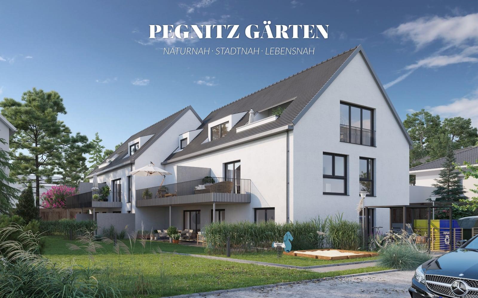 Pegnitz Gärten in Fürth