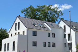 Regnitzterrassen - Fassadenarbeiten abgeschlossen